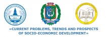 Problems of socio-economic development